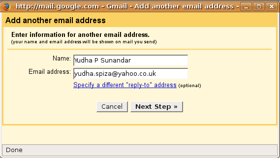 Add Another Email Address 1