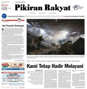 Screenshot Pikiran Rakyat edisi 6 Oktober 2014